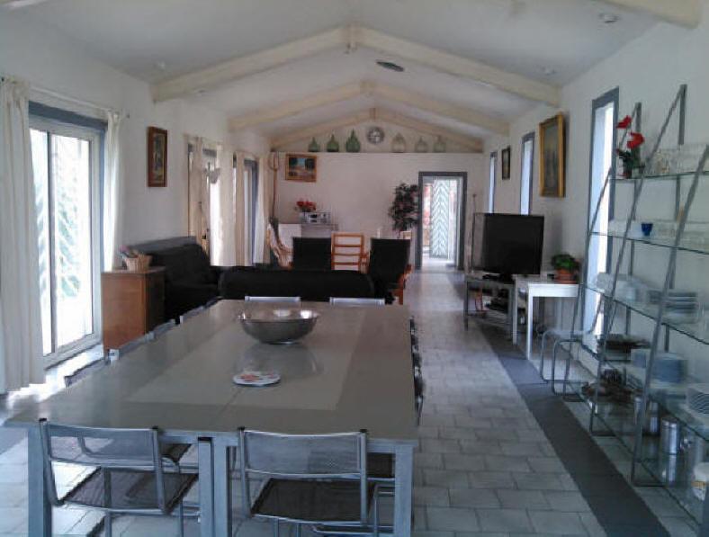 Location luxueuse maison vacances 12 personnes piscine languedoc provence - Belle maison interieur ...